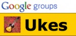 Ukes For Fun Meetings Flier thumbnail. Link to Ukes Google Group.