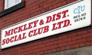 Mickley Social Club Signboard