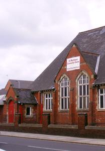 St Mathew's Hall external view