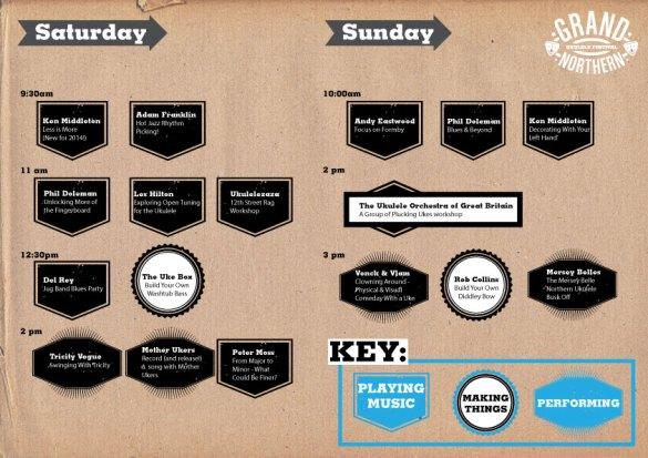 Workshops planner