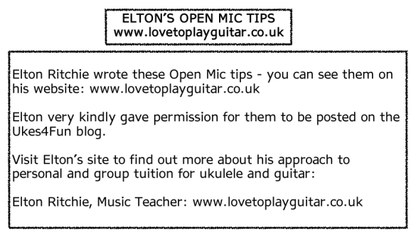 2015-09-13 Elton Open Mic Tips