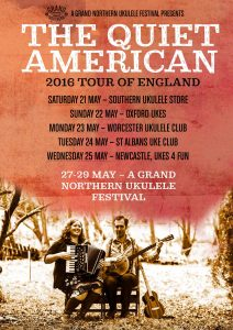 2016-05-21 The Quiet American Poster GNUF Tour