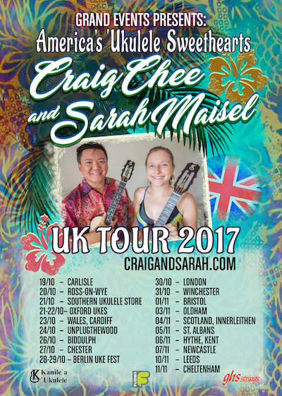 Sarah Maisel + Craig Chee! Workshop + Concert 7th Nov 2017 @thecumby